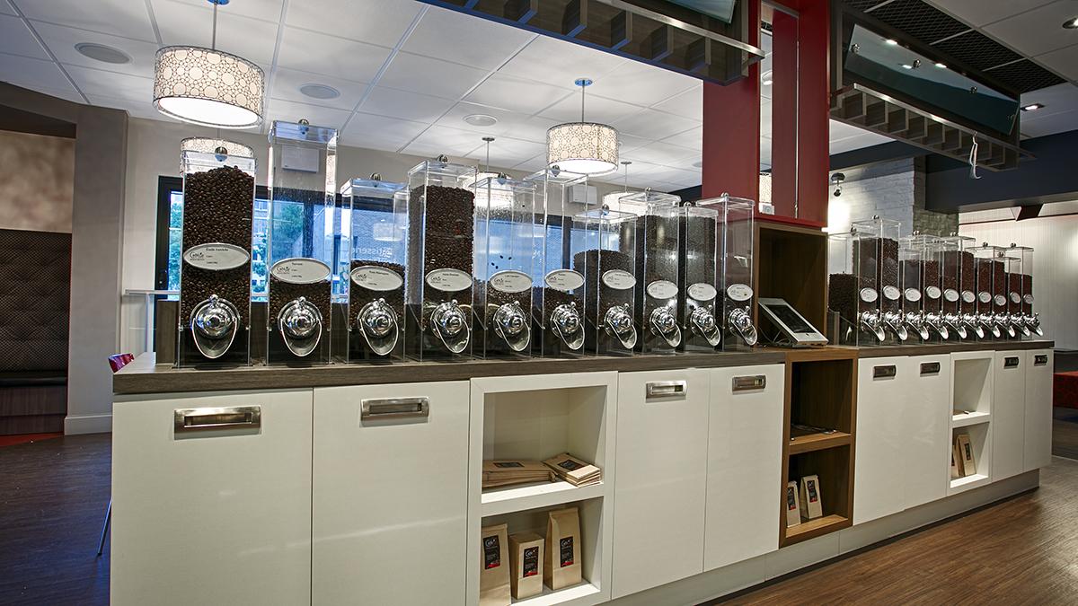 grains de café Café In